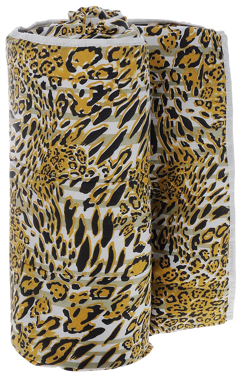 Одеяло летнее OL-Tex Miotex, наполнитель: овечья шерсть, цвет: леопардовый, 200 см х 220 смМШПЭ-22-1_леопардовыйЛетнее одеяло OL-Tex Miotex создаст комфорт и уют во время сна. Стеганый чехол выполнен из полиэстера и оформлен красочным рисунком. Внутри - наполнитель из натуральной овечьей шерсти.Свойства шерсти уникальны, а шерсть овцы человек с древних времен использует себе на пользу. Шерсть овцы воздухопроницаема, она имеет между ворсинками воздушные пузырьки, что обеспечивает прекрасную терморегуляцию. Овечья шерсть прогревает тело сухим теплом, успокаивает боль, создает атмосферу комфорта. Шерсть помогает бороться со стрессом, обладает успокаивающим эффектом.Летнее одеяло из натуральной овечьей шерсти удобно и комфортно, оно создаст оптимальный микроклимат в постели - в теплое время года под ним не будет ни холодно, ни жарко. Рекомендации по уходу:- Нельзя стирать.- Нельзя отбеливать. - Не гладить. Не применять обработку паром.- Нельзя выжимать и сушить в стиральной машине.Размер одеяла: 200 см х 220 см. Материал чехла: 100% полиэстер. Материал наполнителя: овечья шерсть. Плотность наполнителя: 100 г/м2.