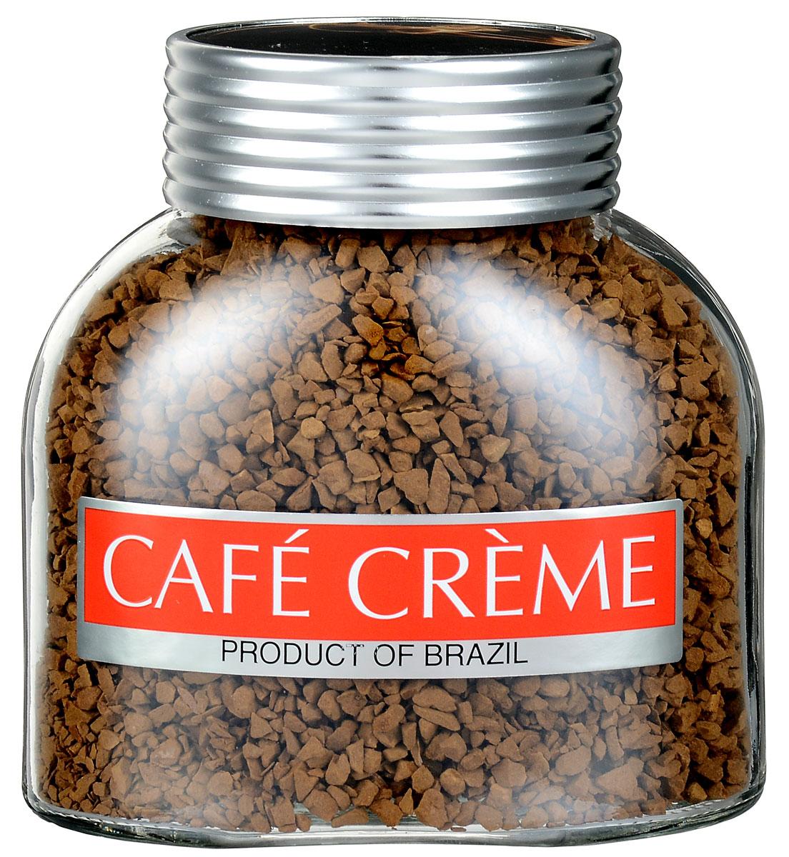 Cafe Creme Original кофе растворимый, 100 г (банка)4607141332173Cafe Creme Original - растворимый кофе высшего качества. Добавив в этот напиток две чайные ложечки меда и лимонный сок по вкусу, можно приготовить легендарный напиток здоровья и долголетия, укрепляющий иммунитет. Именно его употребляют в течение дня жители Эспирито-Санто, горной местности на юго-востоке Бразилии, где произрастает один из лучших сортов бразильской арабики.