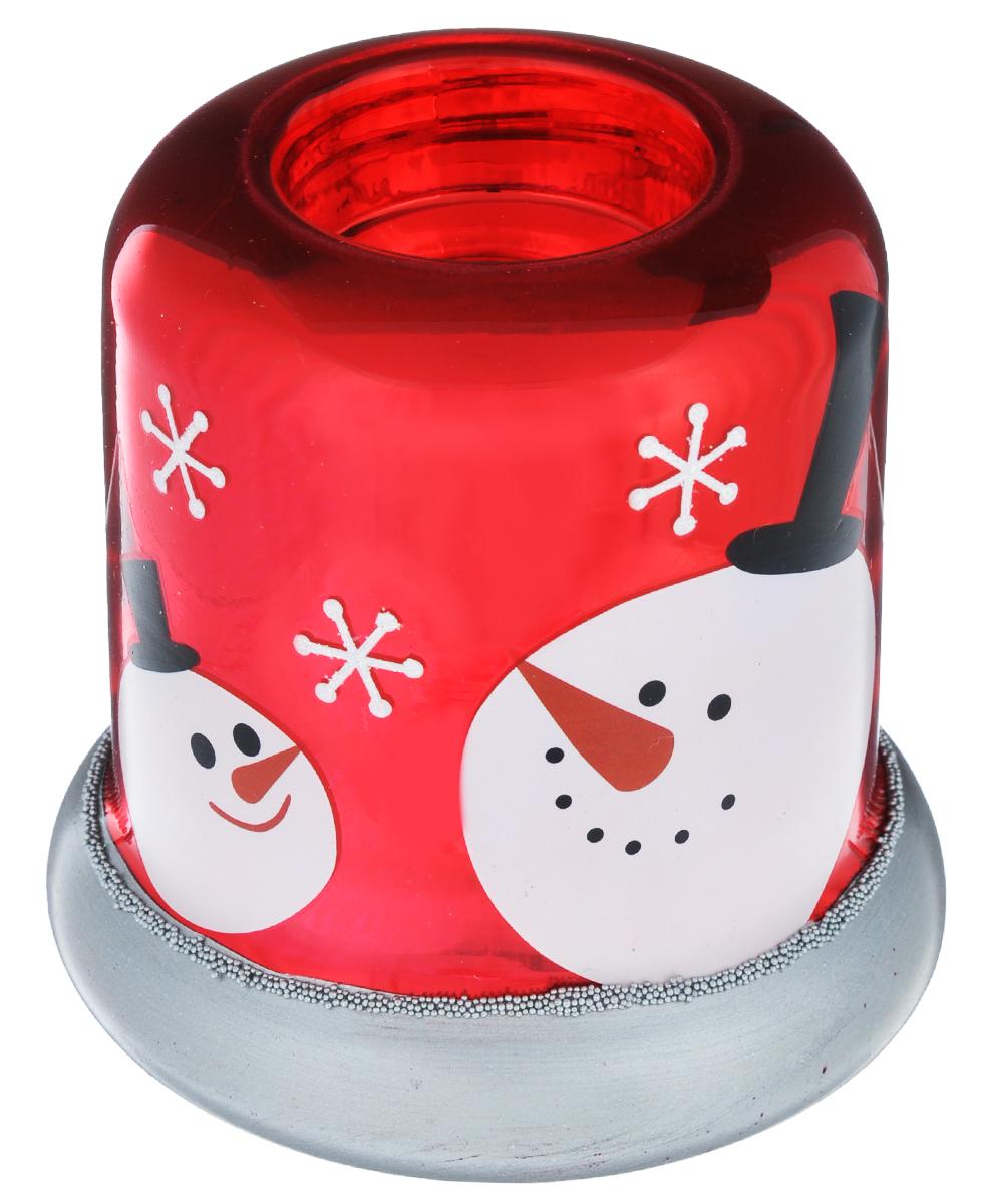 Новогодний декоративный подсвечник Its a Happy Day Снеговичок, 9,5 см х 9,5 см х 9,5 см66492Новогодний подсвечник Its a Happy Day Снеговичок, выполненный из стекла, украсит интерьервашего дома или офиса в преддверии Нового года. Изделие, декорированное яркимизображением снеговика и блестками, станет желанным подарком и отличным решениемоформления интерьера. Вы можете поставить подсвечник в любом месте, где он будет удачно смотреться, и радоватьглаз. Кроме того - это отличный вариант подарка для ваших близких и друзей. Диаметр отверстия для свечи: 4 см.