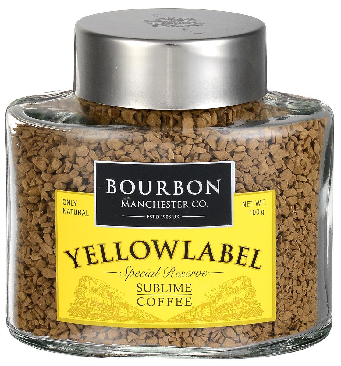 Bourbon Yellow Label кофе растворимый, 100 г4607141336737Bourbon Yellow Label - купаж отборных зерен Латинской Америки. Ягоды желтого бурбона высушены прямо на дереве. Именно поэтому кофе имеет сладковатую сливочную доминанту во вкусе. Благодаря колумбийской арабике остается нежный фруктовый аромат, а премиальная костариканская арабика вносит свои шоколадный и пряные нотки в послевкусие.