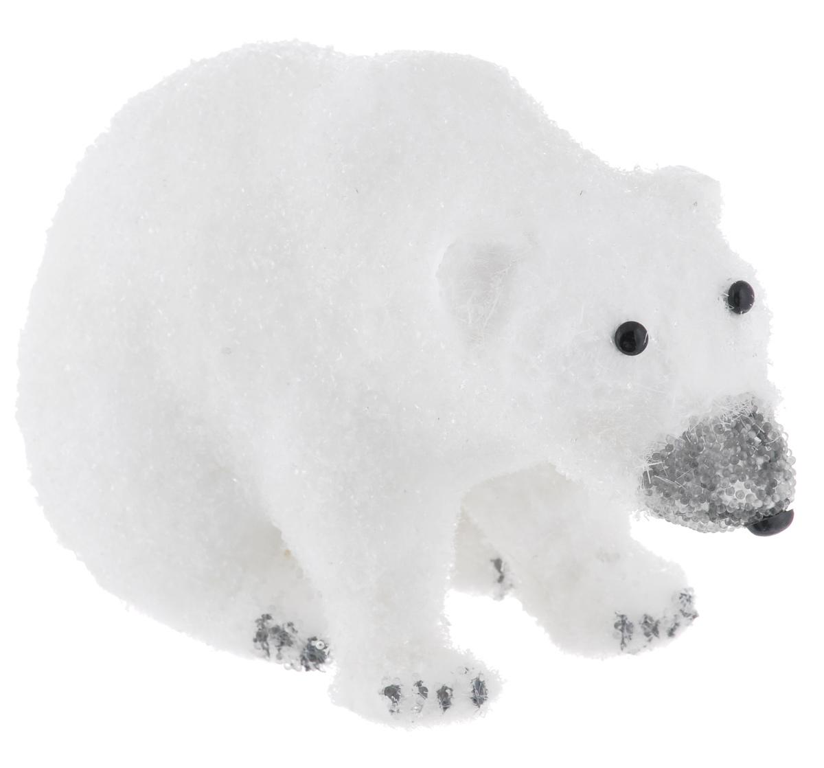 Фигурка декоративная Sima-land Медведь, 23 х 13 х 14 см538254Новогодняя декоративная фигурка Sima-land Медведь выполнена в виде медведяиз пенопласта и искусственного волокна, и оформлена пластиковой крошкой.Такая оригинальная фигурка подойдет для оформления новогоднего интерьера и принесет с собой атмосферу радости и веселья, а также станет замечательным подарком для друзей и близких.Материал: пенопласт, искусственное волокно, пластик.