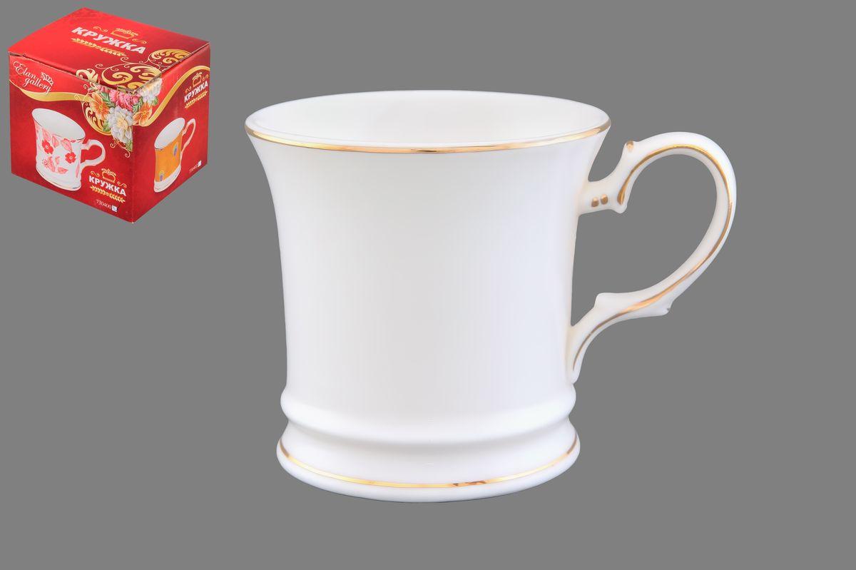 Кружка Elan Gallery Снежинка, цвет: белый, золотистый, 170 мл730418Кружка Elan Gallery Снежинка выполнена из керамики. Она станет отличным дополнением к сервировке семейного стола и замечательным подарком для ваших родных и друзей.Диаметр кружки по верхнему краю: 7,5 см.Высота кружки: 7,5 см.Не рекомендуется применять абразивные моющие средства.Не использовать в микроволновой печи.