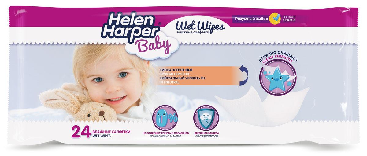 Helen Harper Влажные салфетки детские Baby 24 шт