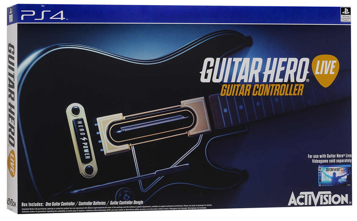 Guitar Hero Live Controller PS4. Гитара guitar hero 5 без гитары спб