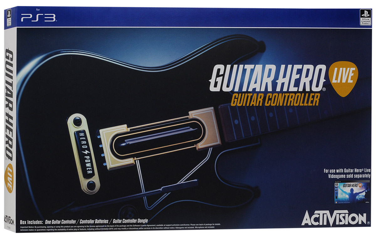 все цены на  Guitar Hero Live Controller PS3. Гитара  онлайн