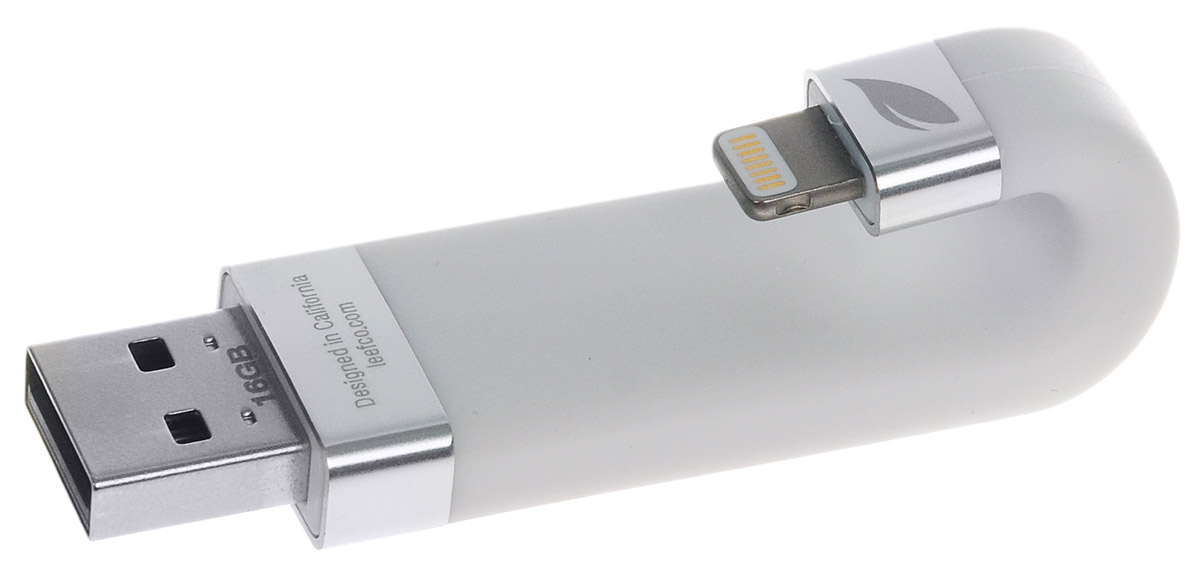 Leef iBridge 16GB, White USB-накопитель usb flash disk leef ibridge 16gb usb 2 0