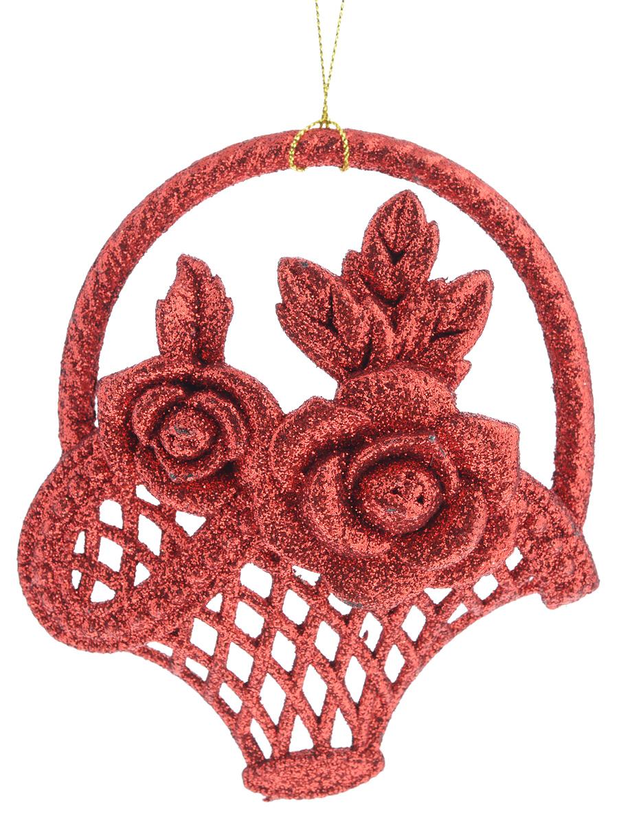 Новогоднее подвесное украшение Феникс-презент Корзинка, цвет: красный38701/75069Новогоднее украшение Феникс-презент Корзинка, изготовленное из высококачественного пластика, прекрасно подойдет для праздничного декора дома и новогодней ели. С помощью специальной текстильной петельки его можно повесить в любом понравившемся вам месте. Елочная игрушка - символ Нового года. Она несет в себе волшебство и красоту праздника. Создайте в своем доме атмосферу веселья и радости, украшая новогоднюю елку нарядными игрушками, которые будут из года в год накапливать теплоту воспоминаний.