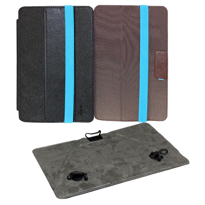 Snoogy Twin SN-TW-U7 чехол для планшета 7, Black BrownSN-TW-U7-blk/brnУниверсальный чехол Snoogy Twin SN-TW-U7 для планшетов с диагональю экрана 7 со сменными лицевыми крышками. Меняйте лицевую панель по вашему настроению!Чехол придуман и изготовлен полностью в России из качественной ПУ-кожи и ткани с водоотталкивающим эффектом. Держатель устройства - эстетичные тонкие и надежные пластиковые уголки, которые крепко фиксируют планшет. Ко всем элементам планшета имеется свободный доступ. Предусмотрены отгибающиеся уголки на задней крышке для легкого доступа к задней камере устройства. Передняя крышка служит подставкой для альбомной ориентации планшета.Упаковка для чехла представляет собой самостоятельный продукт - она выполнена в качестве косметички и может использоваться для хранения и перевозки полезных мелочей.