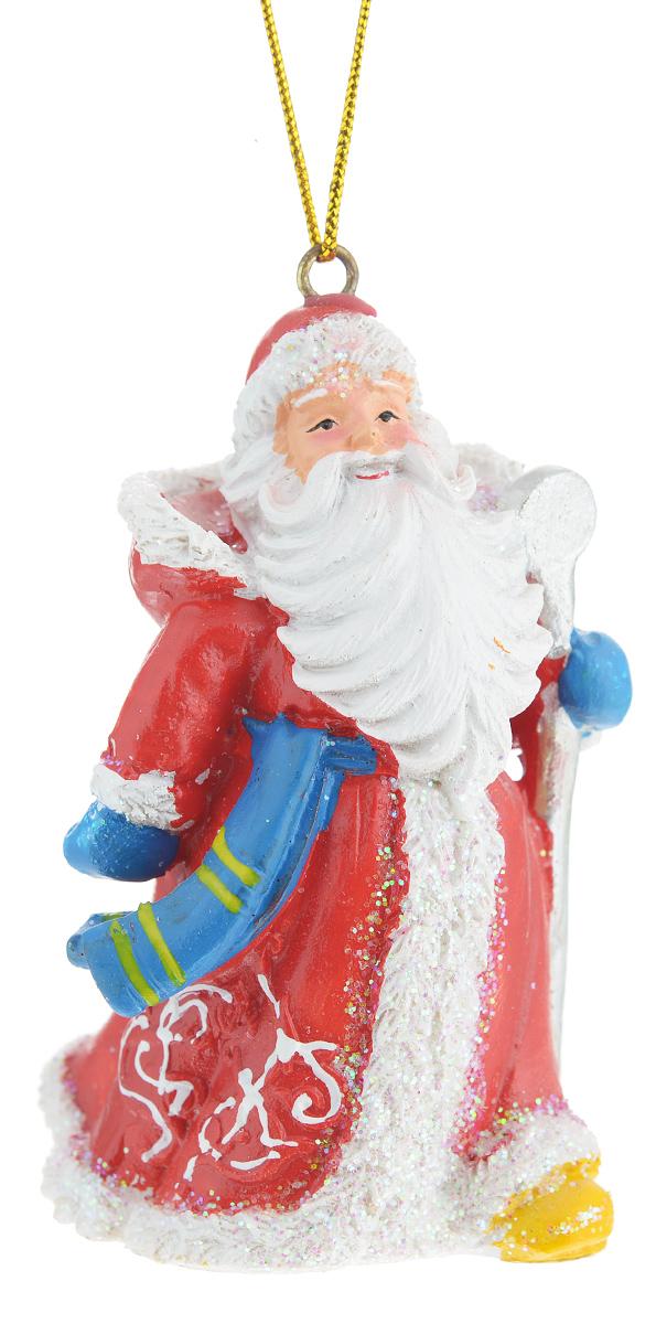 Новогоднее подвесное украшение Феникс-презент Дед Мороз с посохом38319Новогоднее украшение Феникс-презент Дед Мороз с посохом, изготовленное из высококачественногополирезина, прекрасно подойдет для праздничного декора дома иновогодней ели. С помощьюспециальной текстильной петельки его можно повесить в любомпонравившемся вам месте.Елочная игрушка - символ Нового года. Она несет в себе волшебство и красоту праздника.Создайте в своем доме атмосферу веселья и радости, украшая новогоднюю елку наряднымиигрушками, которые будут из года в год накапливать теплоту воспоминаний.