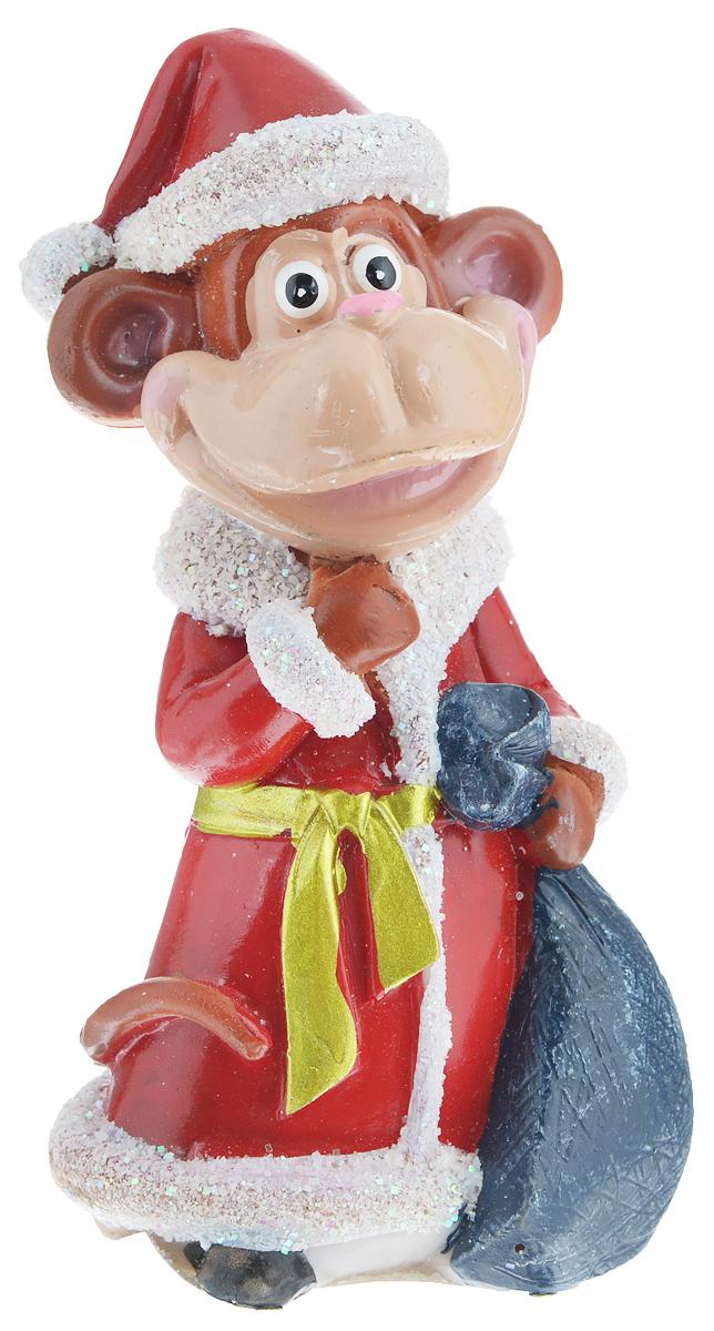 Сувенир Sima-land Обезьянка-Дед Мороз с мешком, высота 10,5 см1057369_красныйСувенир Sima-land Обезьянка-Дед Мороз с мешком выполнен из высококачественного полистоуна в виде забавной обезьянки в костюме Деда Мороза и с мешком. Такой сувенир станет отличным подарком родным или друзьям на Новый год, а также он украсит интерьер вашего дома или офиса.