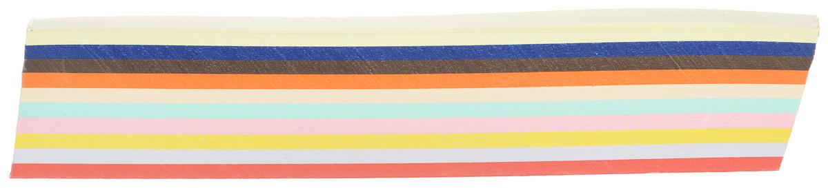 Бумага для квиллинга АртНева Ассорти, 10 мм х 297 мм, 250 листов688923Бумага для квиллинга АртНева - это порезанные специальным образом полоски бумаги определенной плотности. Такая бумага пластична, не расслаивается, легко и равномерно закручивается в спираль, благодаря чему готовым спиралям легче придать форму. Квиллинг (бумагокручение) - техника изготовления плоских или объемных композиций из скрученных в спиральки длинных и узких полосок бумаги. Из бумажных спиралей создаются необычные цветы и красивые витиеватые узоры, которые в дальнейшем можно использовать для украшения открыток, альбомов, подарочных упаковок, рамок для фотографий и даже для создания оригинальной бижутерии. Это простой и очень красивый вид рукоделия, не требующий больших затрат.В наборе бумага 10 разных цветов: синий, коричневый, оранжевый, бежевый, светло-желтый, светло-серый, желтый, мятный, красный, розовый. Ширина: 10 мм.Длина: 29,7 см.Плотность бумаги: 160 г/м2.
