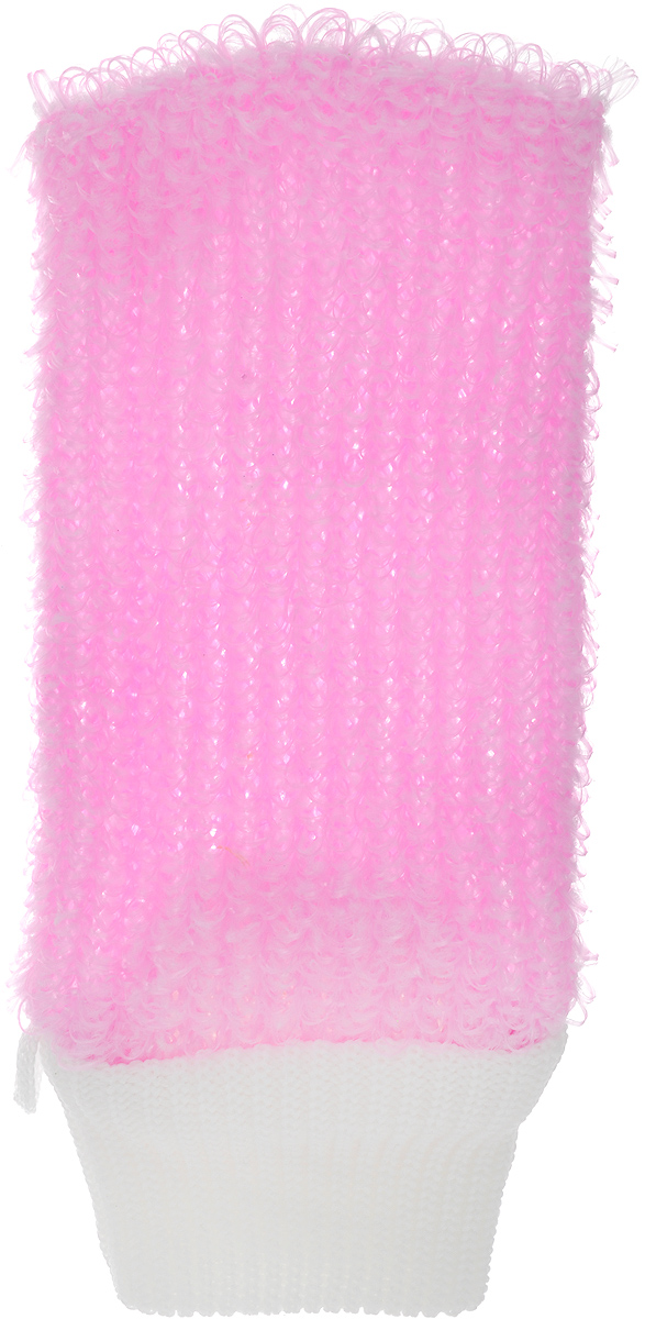 Мочалка Eva Рукавица, цвет: розовый, белый, 11 х 22 смМ38_розовыйМочалка Eva Рукавица станет незаменимым аксессуаром ванной комнаты.Она отлично очищает кожу, создает обильную пену, быстро сохнет, не требует ухода, существенно экономит моющие средства, а также имеет длительный срок службы.Обладает эффектом скраба - кожа становится чистой, упругой и свежей. Идеально подходит для профилактики и борьбы с целлюлитом.