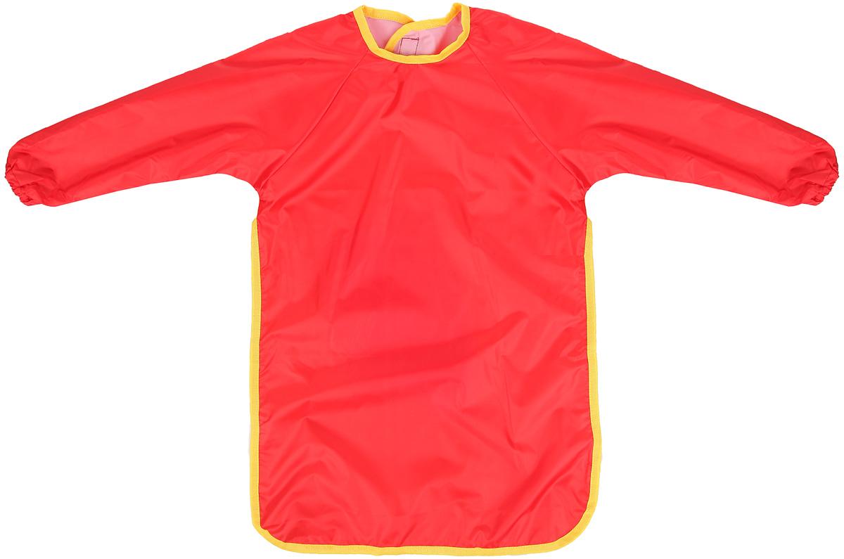 Спортбэби Фартук для детского творчества цвет красный возраст 6-7 лет -  Аксессуары для труда