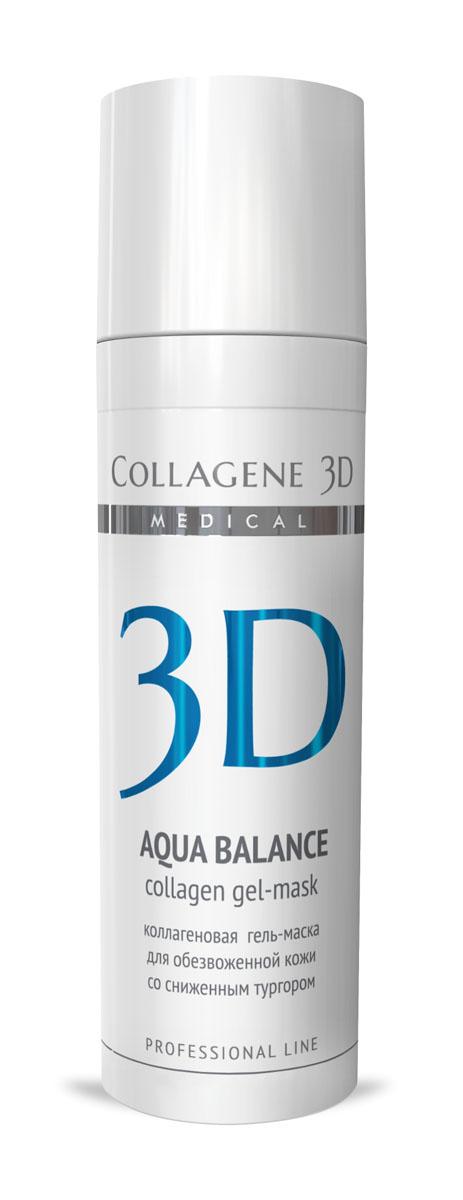 Medical Collagene 3D Гель для лица профессиональный Aqua Balance ,30 мл25004Гель-маска подходит для проведения самостоятельной процедуры, а также сочетается с аппаратными методиками. Способствует нормализации водного баланса, заполняя морщины изнутри.