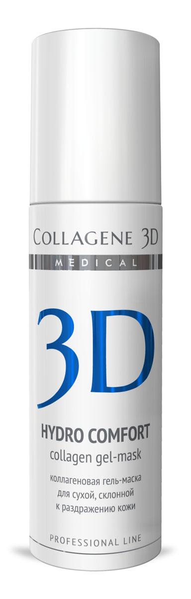 Medical Collagene 3D Гель для лица профессиональный Hydro Comfort, 130 мл25012Гель-маска подходит для проведения самостоятельной процедуры, а также сочетается с аппаратными методиками. Оказывает противовоспалительное, смягчающее и увлажняющее действие. Мнгновенный лифтинг-эффект