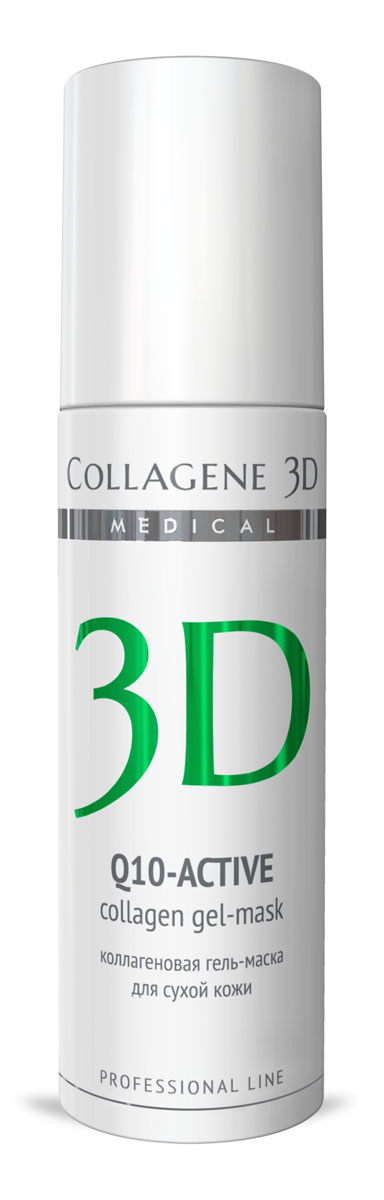 Medical Collagene 3D Гель для лица профессиональныйй Q10-active, 130 мл гель medical collagene 3d easy peel glicolic peeling 5