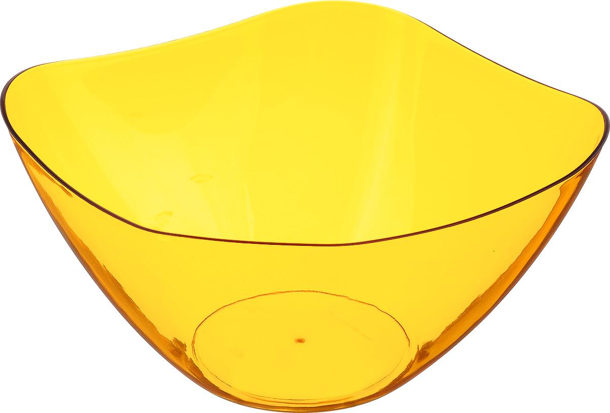 Салатник Беросси Ice, цвет: оранжевый, 3 лИК 08218000Салатник Беросси выполнен из первоклассного пластика. Посуда подходит к любому интерьеру.Можно мыть в посудомоечной машине.Подходит для любых событий и торжеств.Не использовать на открытом огне.