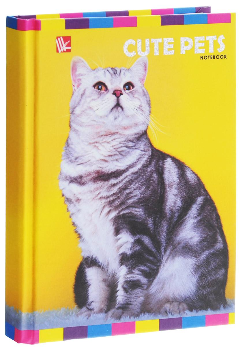 Listoff Записная книжка Кот 96 листов в клетку записная книжка мой шоппинг 96 листов