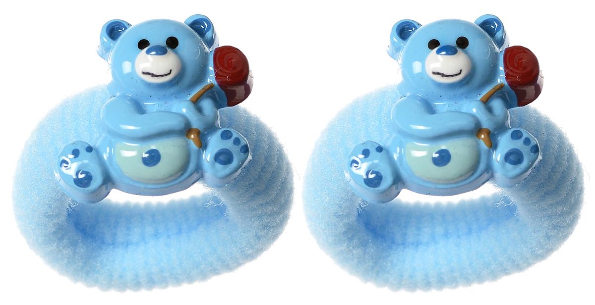 Резинка для волос Baby's Joy, цвет: голубой, 2 шт. VT 75