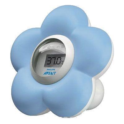 Philips Avent Цифровой термометр для воды и воздуха SCH550/20SCH550/20С помощью цифрового термометра для ванны и помещений Avent удобно контролировать температуру, как в детской, так и в ванной. Кроме того, исследования доказали абсолютную безопасность данного прибора, который можно использовать как игрушку для ребенка в ванной (не тонет в воде). Позволяет измерить температуру всего за 90 секунд.