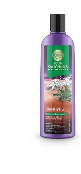 Natura Siberica Kamchatka Шампунь Снежный Бриллиант Эффектный объем и пышность волос, 280 мл086-9-34783Natura Kamchatka Шампунь Снежный Бриллиант Эффектный объем и пышность волос, 280 мл.Камчатский подснежник обладает поразительной жизненной силой и энергией. Это удивительное растение весь год накапливает питательные вещества, чтобы зацвести ранней весной. Благодаря высокой концентрации растительных полисахаридов - в 3 раза больше, чем в сахарном тростнике- камчатский подснежник устойчив к морозам и способен расти даже под снегом. Комплекс полисахаридов создает защитную пленку, удерживая влагу внутри стержня волоса, защищая от пересыхания и ломкости.Сибирский эдельвейс вбирая в себя всю силу богатых минералами вулканических почв, обладает свойством активной стимуляции роста волос и борьбы с их выпадением. В результате волосы приобретают густоту и роскошный объем.Ультралегкая формула без SLS, силикона и парабенов не утяжеляет волосы.Особенности состава: Ультралегкая формула без SLS, силикона и парабенов не утяжеляет волосы. (*) - органические ингредиенты (WH) - органические экстракты дикорастущих растений Сибири (PS) - производное масла сибирского кедра (HR) – производное масла алтайской облепихи Эффект от использования: Питание и идеальное сияние волос.