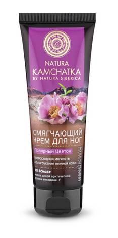 Natura Siberica Kamchatka Крем для ног Полярный цветок мягкость и благоухание нежной кожи, 75 мл086-9-34929Natura Kamchatka Крем для ног Полярный цветок мягкость и благоухание нежной кожи, 75мл.Смягчающий крем для ног легкий и бархатистый, как лепестки диких цветов Камчатки, создает ощущение комфорта на целый день. Входящее в состав масло арктической розы благодаря высокому содержанию протеинов питает и защищает кожу стоп от сухости. Витамин F восстанавливает защитный слой кожи и значительно улучшает ее способность удерживать влагу. Особенности состава: На основе масла дикой арктической розы и витамина F:(*) - органические ингредиенты (WH) - органические экстракты дикорастущих растений Сибири (PS) - производное масла сибирского кедра (HR) – производное масла алтайской облепихи Эффект от использования: превосходная мягкость и благоухание нежной кожи.