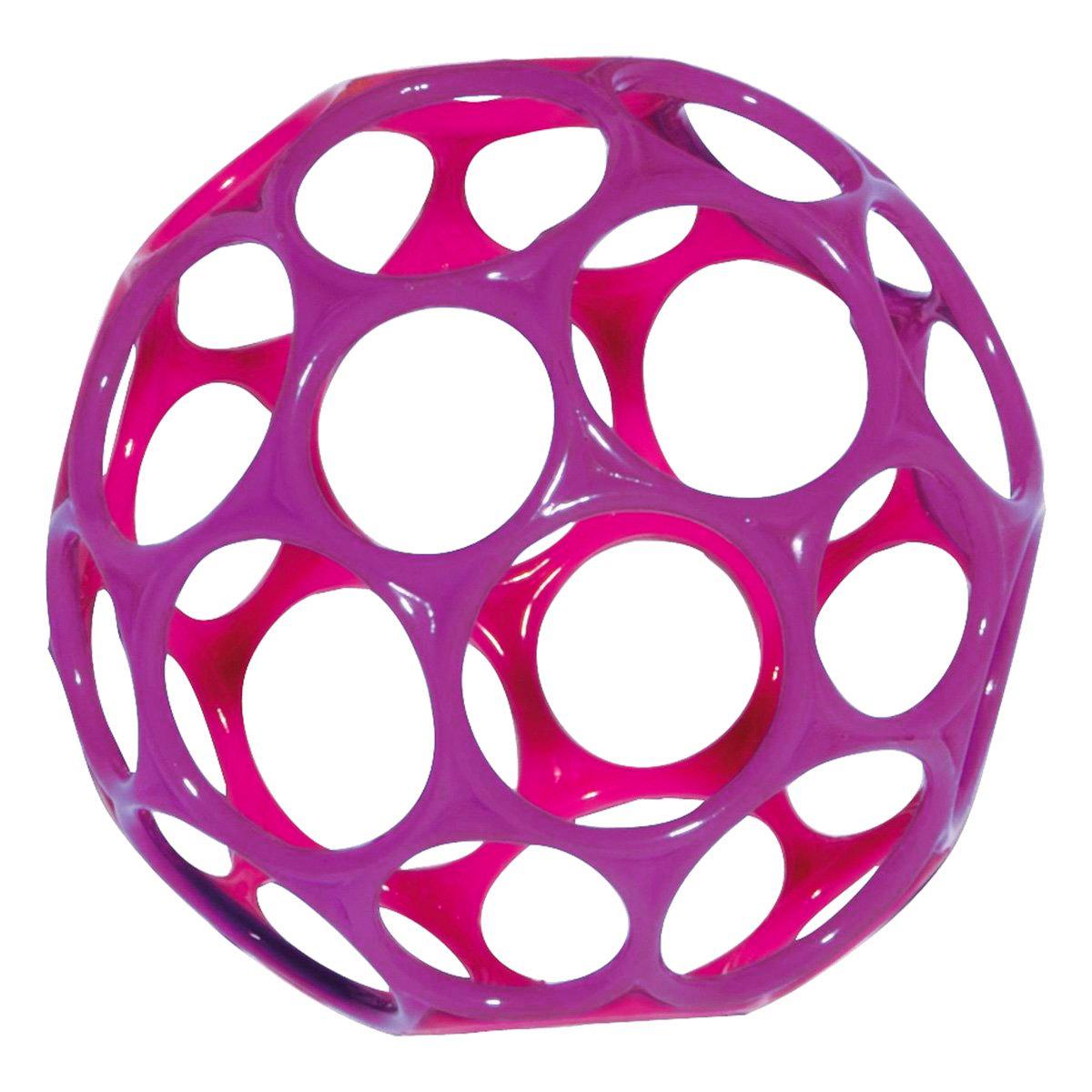 Oball Развивающая игрушка Мячик фуксия розовый головоломки oball развивающая игрушка на присоске oball