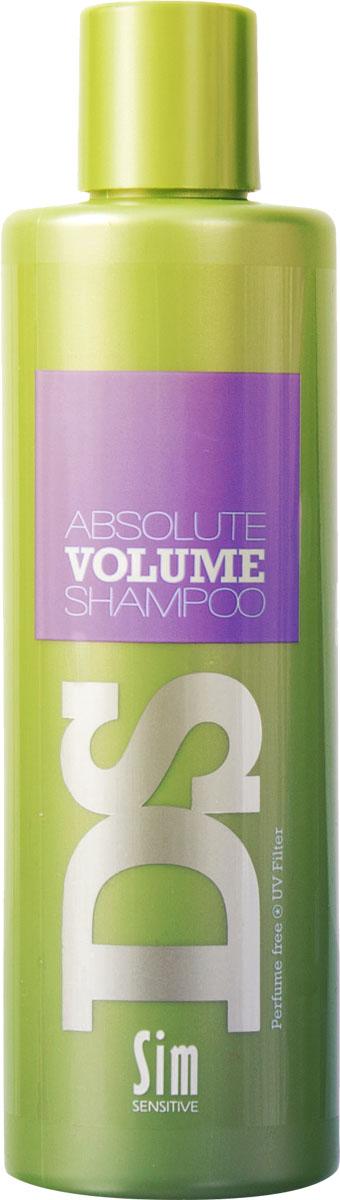 SIM SENSITIVE Шампунь для объема волос Absolute Volume 250 мл5188Шампунь Абсолют Волюм входит в состав комплекса Абсолют Волюм DS by Sim Sensitive. Шампунь не только эффективно очищает кожу головы и волосы, но иподдерживает слабые и тонкие волосы, придавая им упругость и объем. В целях достижения эффекта, в шампунь включены необходимые для этого ингредиенты: гуар шелковый и глицерин. Также шампунь снабжен УФ-фильтром, защищающим волосы от ультрафиолета. Шампунь не содержит сульфаты, парабены и ароматизаторы.Состав:aqua,disodium laureth sulfosuccinate, cocamidopropyl betaine,cocamidopropylamine oxide, polyquaternium-67, guar hydroxypropyltrimonium chloride, isostearamide mipa,gliceryl laurate,peg-150 pentaerythritil tetrastearate, peg-6 caprylic/capric glycerides,ethylhexyl methoxycinnamate,phenoxyethanol, lodopropynyl butylcarbamate,citric acid
