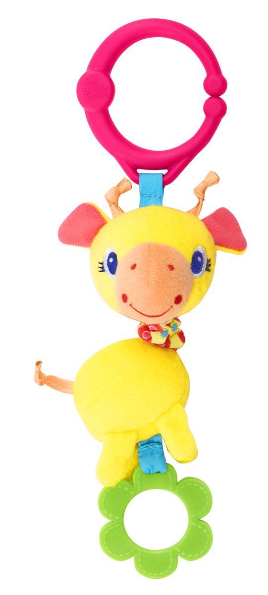 Bright Starts Развивающая игрушка Дрожащий дружок Жираф прорезыватель bright starts динозаврик желтый 52029 2