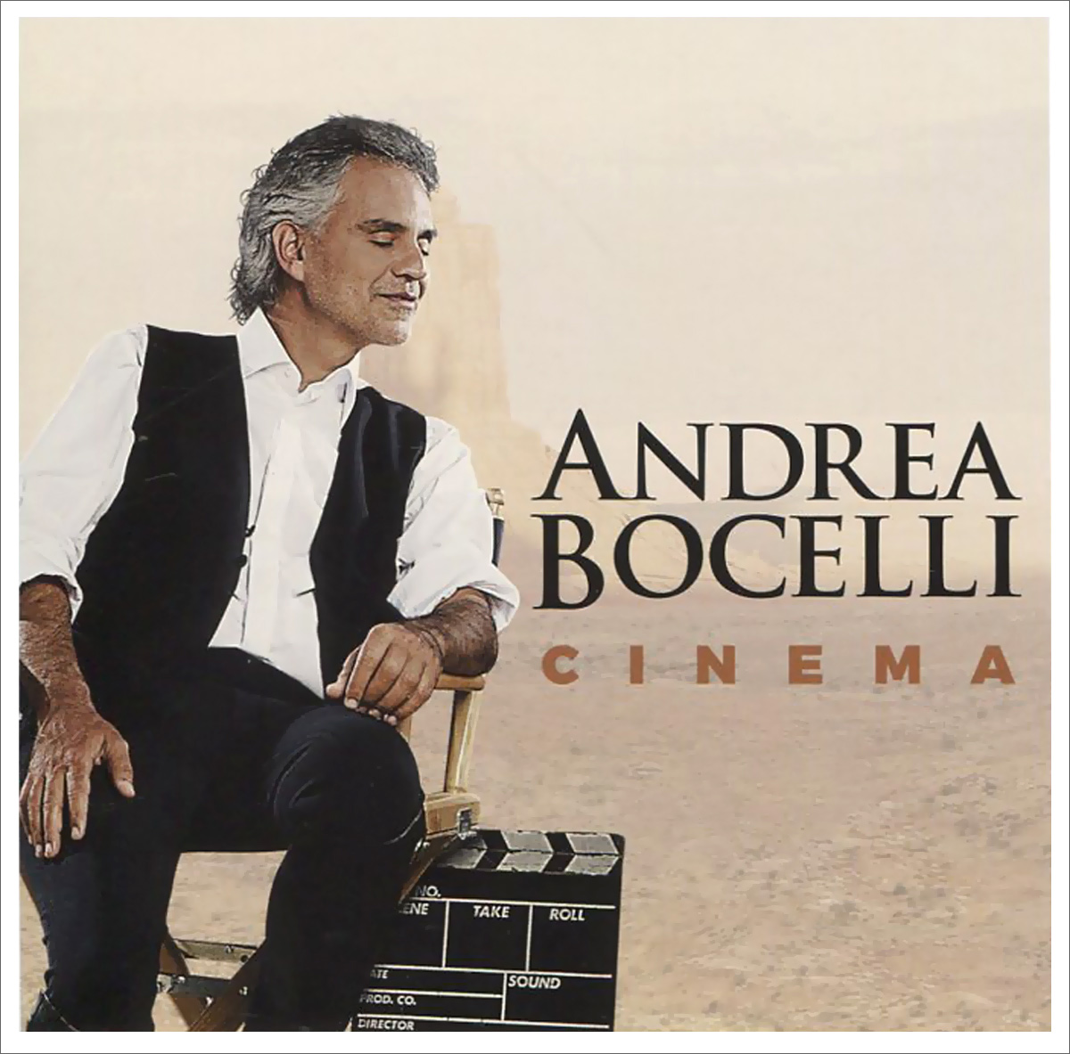 Андреа Бочелли Andrea Bocelli. Cinema андреа бочелли andrea bocelli the complete pop albums 16 cd