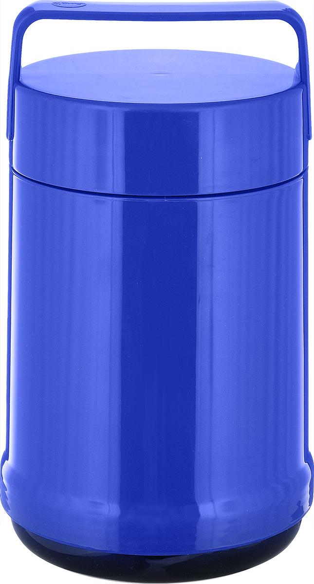 Термос для еды Emsa Rocket, цвет: синий, 1,4 л514535Термос с широким горлом Emsa Rocket выполнен из прочного цветного пластика со стеклянной колбой. Термос прост в использовании и очень функционален. В комплекте 2 контейнера, которые можно использовать в качестве мисок для еды. Легкий и прочный термос Emsa Rocket сохранит вашу еду горячей или холодной надолго.Высота (с учетом крышки): 25 см.Диаметр горлышка: 12,5 см.Диаметр дна: 14 см.Размер большого контейнера: 11,8 см х 11,8 см х 16,5 см.Размер маленького контейнера: 11 см х 10 см х 4,7 см.Сохранение холода: 12 ч.Сохранение тепла: 6 ч.