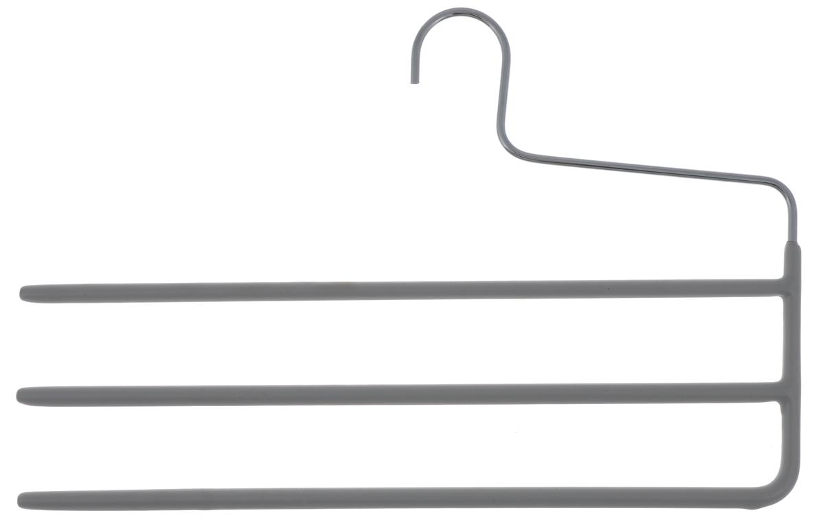 """Вешалка для брюк """"Cosatto"""" изготовлена из металла с антискользящим покрытием. Имеет 3 перекладины для брюк. Вешалка - это необходимый аксессуар для аккуратного хранения вещей."""