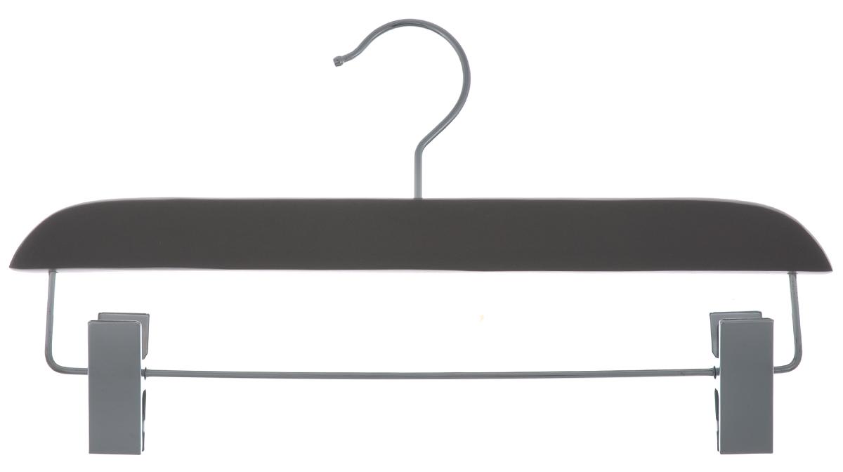 Вешалка для брюк и юбок Cosatto, с зажимами, цвет: мокко, 33 смCOVLPALT32МВешалка Cosatto, выполненная из дерева и нержавеющей стали, идеально подойдет для брюк и юбок. Она имеет надежный крючок и металлическую перекладину с двумя зажимами.Вешалка - это незаменимая вещь для того, чтобы ваша одежда всегда оставалась в хорошем состоянии. Размер вешалки: 33 см х 1,5 см х 16 см.