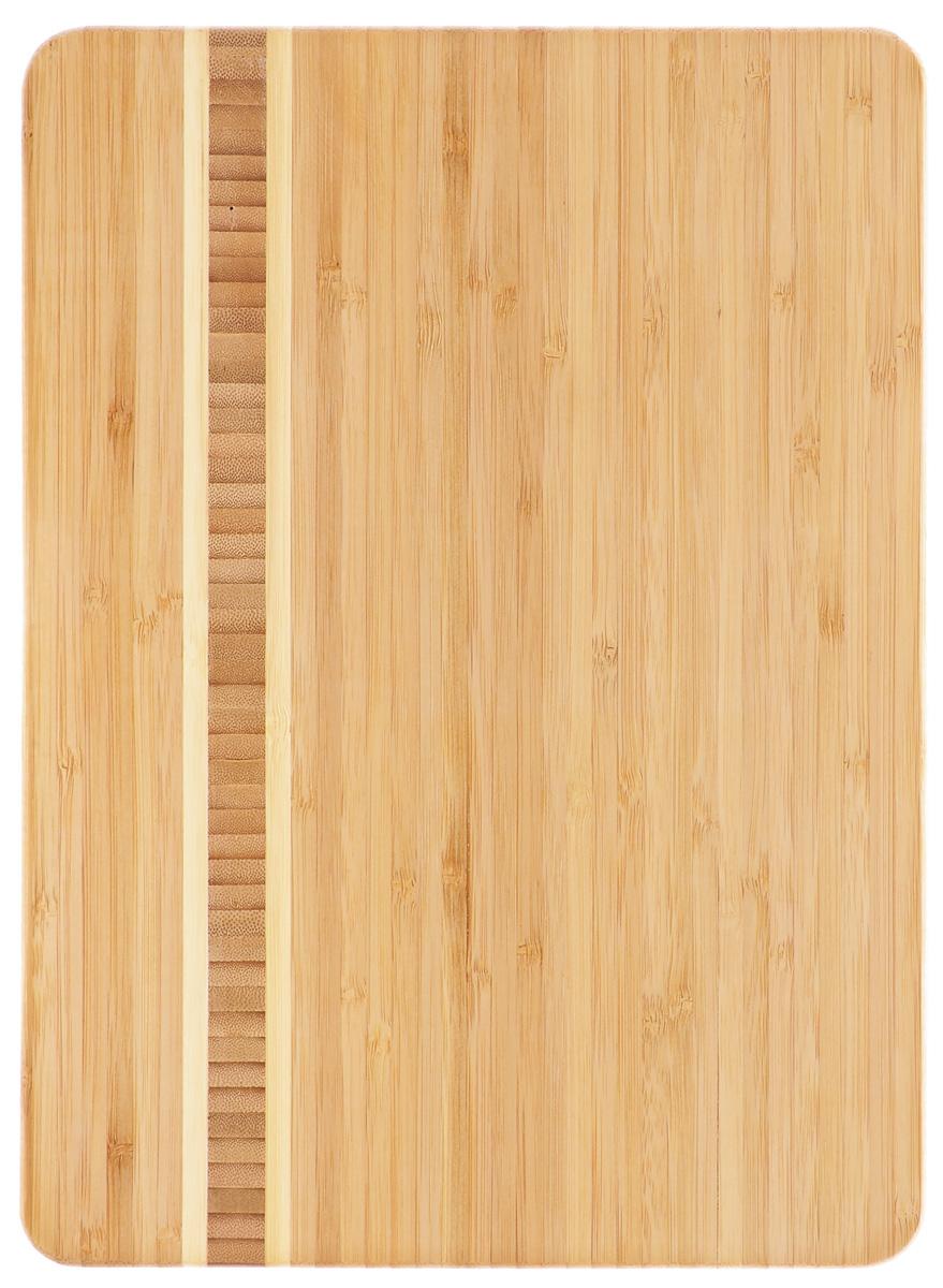 Доска разделочная Zeller, бамбуковая, 34 см х 25 см25236Разделочная доска Zeller изготовлена из натурального дерева.Функциональная и простая в использовании, разделочная доска Zeller прекрасно впишется в интерьер любой кухни и прослужит вам долгие годы. Для мытья использовать неабразивные моющие средства.