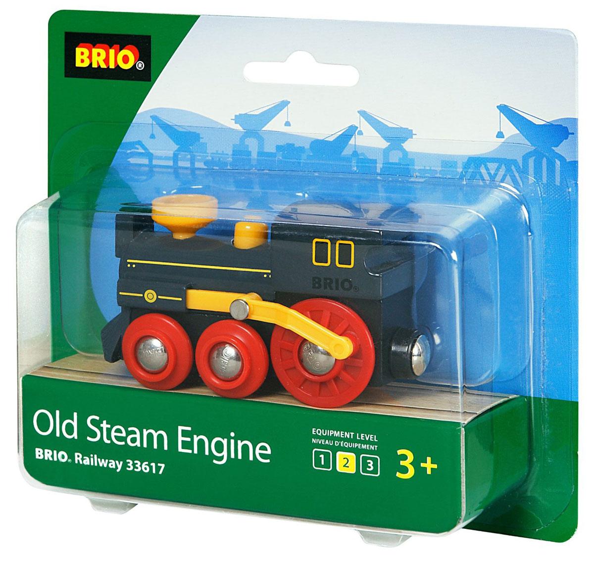 Brio Железная дорога Паровоз классика brio brio железная дорога для малышей классика делюкс