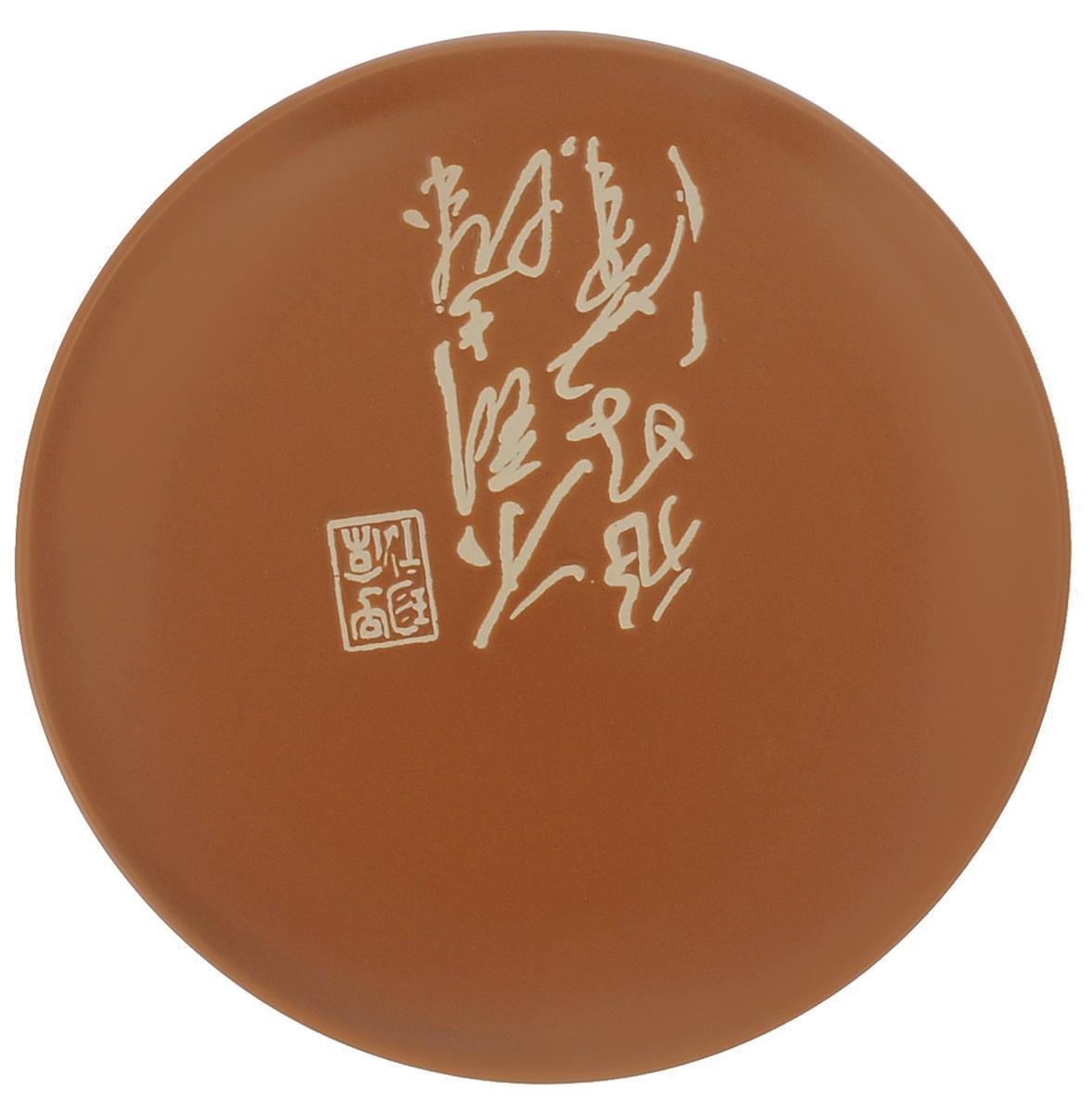 Тарелка Wing Star Терракота, диаметр 18 смLJ2085-3185TТарелка Wing Star Терракота изготовлена из высококачественной керамики. Изделие украшено оригинальной надписью.Такая тарелка украсит сервировку стола и подчеркнет прекрасный вкус хозяйки. Можно мыть в посудомоечной машине и использовать в микроволновой печи.Диаметр: 18 см. Высота: 2 см.