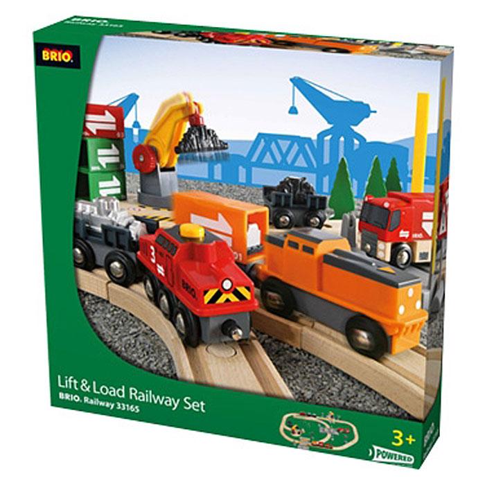 Brio Железная дорога Lift & Load brio железная дорога паровоз и строящийся мост