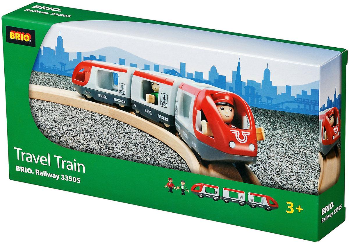 Brio Пассажирский поезд-экспресс железные дороги play smart скоростной поезд молния
