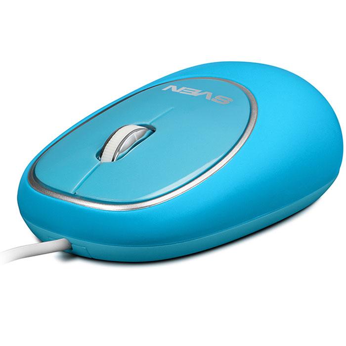 Sven RX-555 Antistress Silent, Light Blue мышьSV-03200555UBSДолой офисную хандру! Этим летом Sven представили яркую компанию проводных компьютерных мышей с уникальным дизайном. Мягкие разноцветные мыши Sven RX-555 Antistress Silent - не просто незаменимые помощники для работы с компьютером. Они гарантированно поднимут вам настроение, украсят рабочий стол и станут отличным развлечением в перерывах между важными делами.Сочные, насыщенные оттенки мышей Sven сразу притягивают внимание. Их так и хочется потрогать! И здесь начинается самое интересное. Корпус RX-555 Antistress Silent выполнен из пластичного податливого материала. Эту компьютерную мышь можно щипать, тискать и мять – она с легкостью вынесет такое обращение и, несмотря ни на что, будет оставаться в отличной форме.RX-555 Antistress Silent невозможно выпустить из рук! Для отличного настроения нужна только компьютерная мышь! Не верите? Специально для этой модели мы создали особенную упаковку: через отверстие в блистере модель можно потрогать и убедиться в правдивости наших слов. Кроме того, мыши Sven очень удобны в работе. Их кнопки абсолютно бесшумны – никаких раздражающих лишних звуков!Компьютерная мышь Sven RX-555 Antistress Silent доступна в синем, оранжевом и супермодном в этом сезоне зеленом цвете. Только позитив и никакого стресса! Коллеги будут вам завидовать!