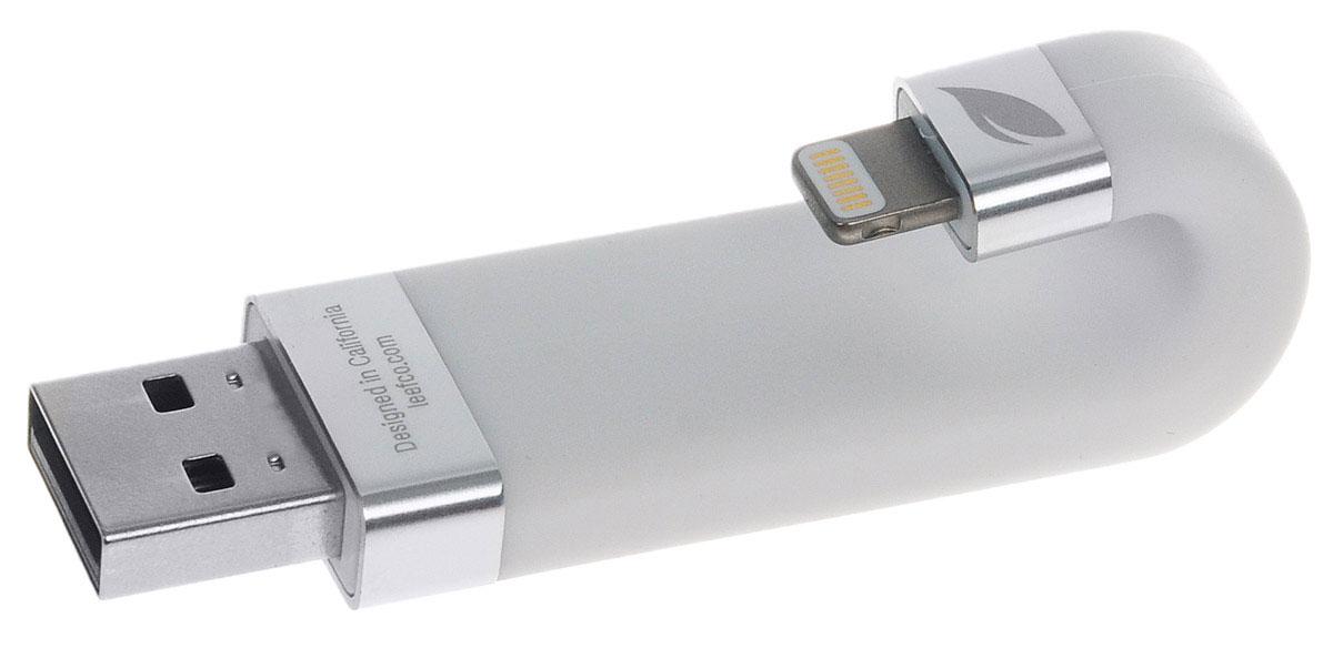 Leef iBridge 128GB, White USB-накопительLIB000WW128R6Leef iBridge создан для расширения памяти на вашем iPhone, iPad, и iPod. Вам больше не придется удалять нужные файлы, освобождая место.Сохраняйте фото и видео прямо на Leef iBridge и никогда не упускайте самые яркие моменты в вашей жизни.Подключите Leef iBridge к своему iPhone или iPad и нажмите iBridge Камера в приложении Leef iBridge App и можете делать снимки.Благодаря Leef iBridge все ваши фильмы и музыка с библиотеки iTunes не займут ни одного мегабайта на вашем мобильном устройстве.В самолете или в машине во время семейной поездки загрузите вашу медиа библиотеку на iBridge и скучать вам больше не придется.Leef iBridge - доступное устройство для расширения памяти на вашем iPhone, iPad, и iPod. С ним вы сможете легко сохранять фотографии, видео и музыку и переносить их между устройствами Apple и ПК.