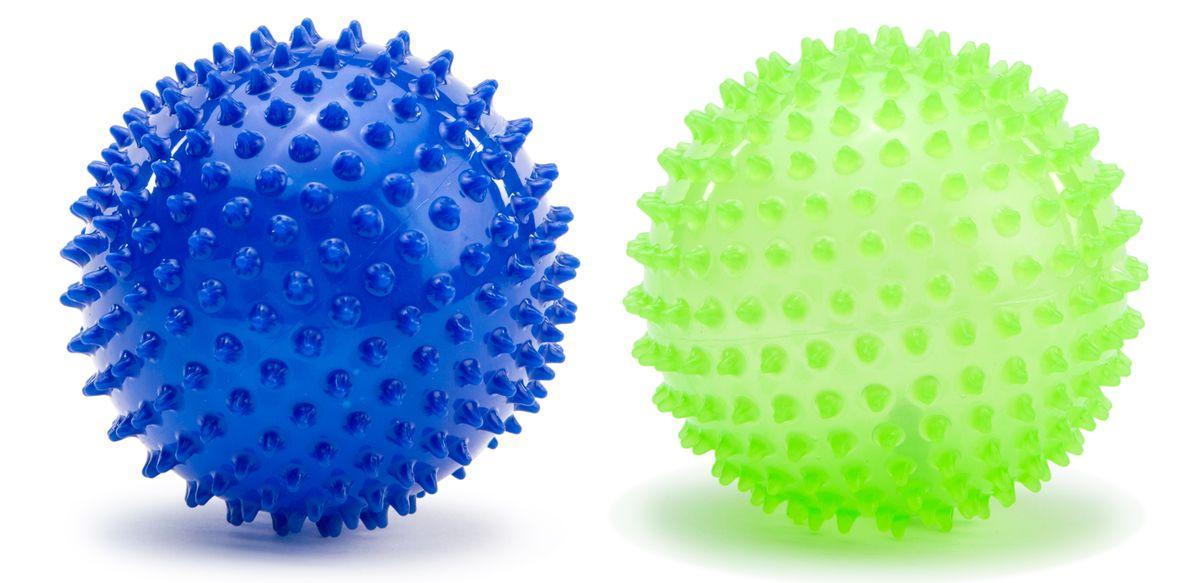 PicnMix Набор массажно-игровых мячей Геймбол 2 шт цвет синий зеленый