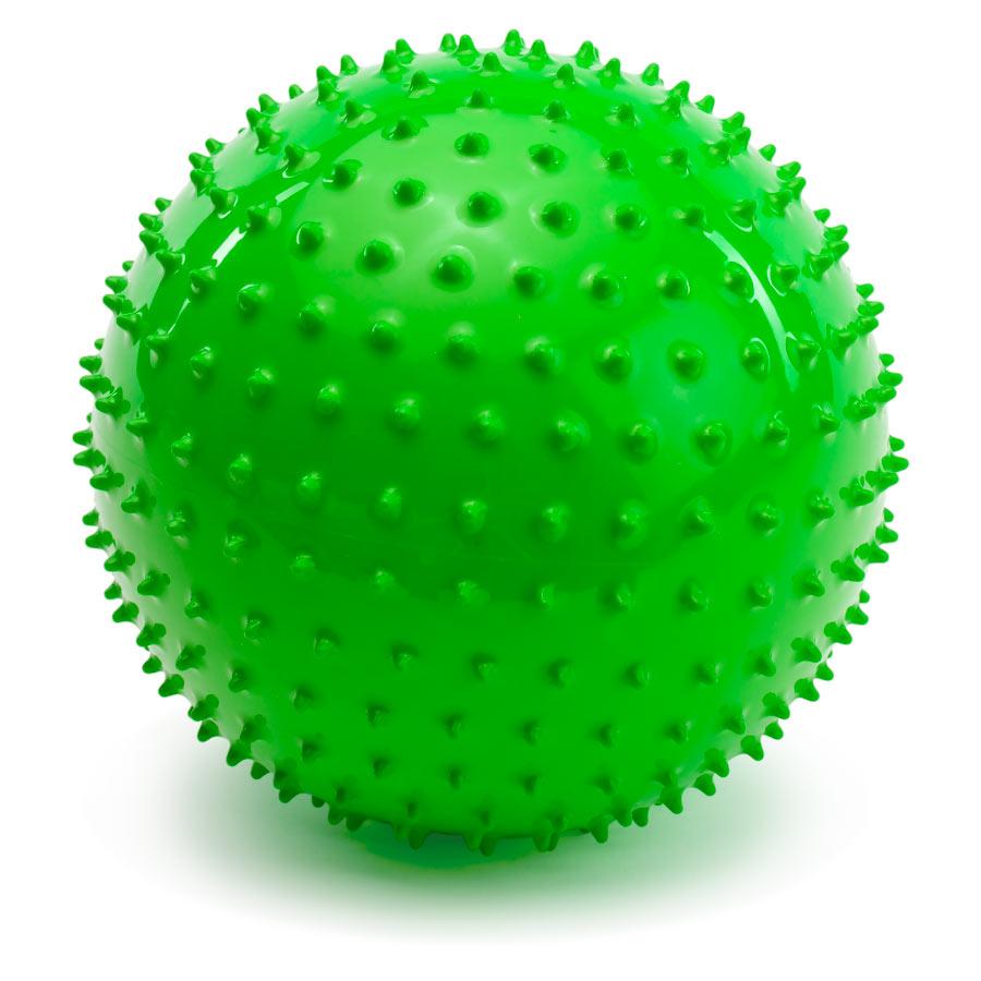 PicnMix Массажно-игровой мяч Геймбол 18 см цвет массажный зеленый