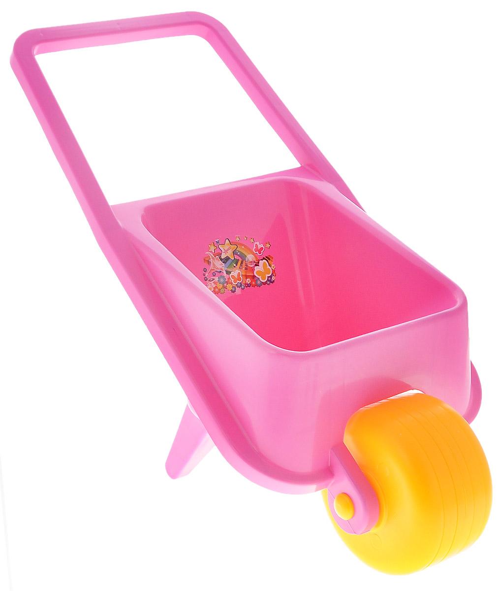 Нордпласт Тачка детская цвет розовый