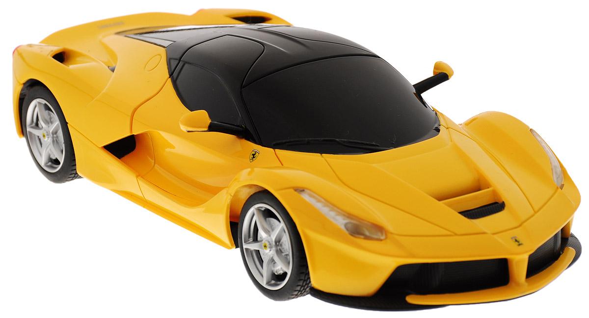 Rastar Радиоуправляемая модель Ferrari LaFerrari цвет желтый радиоуправляемая модель ferrari ff цвет красный масштаб 1 24