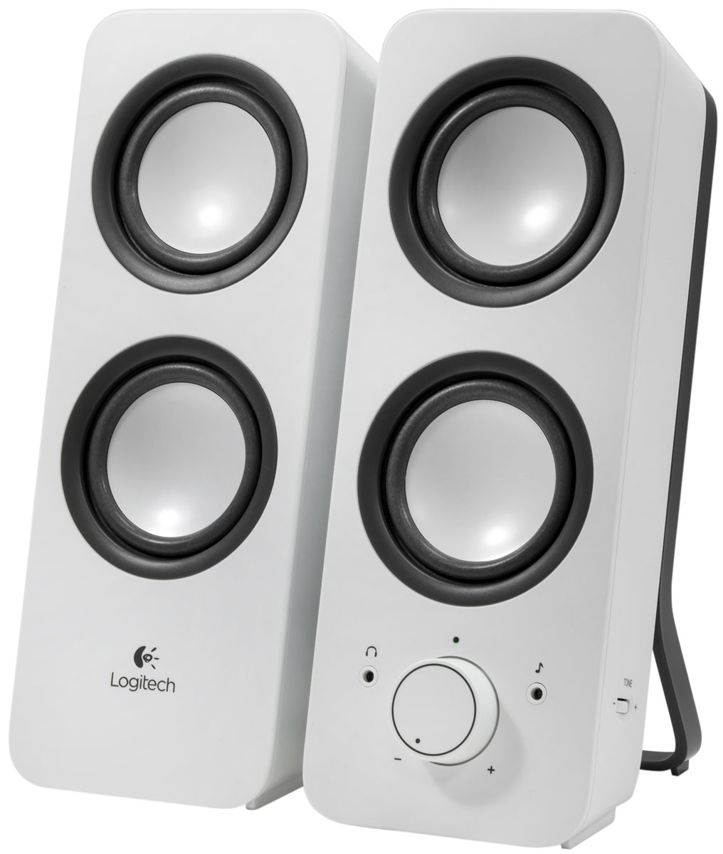 Logitech Z200, Snow White (980-000811) колонки колонка logitech z523 light speaker system 980 000367 980 000321