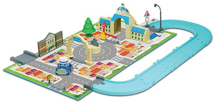 Robocar Poli Игровой набор Мэрия robocar poli набор город почта с мостом 1 металлическая машинка в комплекте