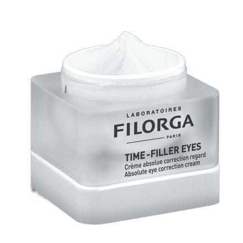Filorga Коррект крем Time-Filler для глаз 15 млDCGP034Совершенный уход для контура глаз, корректирующий все признаки старения! С первых дней применения морщинки разглаживаются, веки подтягиваются,темные круги под глазами исчезают. Глаза выглядят моложе,а взгляд становится более открытым.Морщины: Комплекс Тайм-Филлер (аналогичный ботулотоксину активный компонент + пептид), объединенный с мезотерапевтическим комплексом , уменьшает мимические морщины и разглаживает микрорельеф кожи вокруг глазВеки и ресницы: Мощный лифтинговый комплекс борется с потерей упругости верхних век. Одновременно с этим матрикин увеличивает объем ресниц.Круги под глазами: Заполняющие сферы последнего поколения воздействуют на круги под глазами. Комплекс на основе растений, объединенный с пилинг-компонентом, устраняет темные круги.ЭффективностьПосле 56 дней применения:Улучшается контур глаз 90%Кожа округ глаз увлажнена 100%Веки подтягиваются 70%Темные круги под глаза устранены 70%Совершенный уход для контура глаз, корректирующий все признаки старения!
