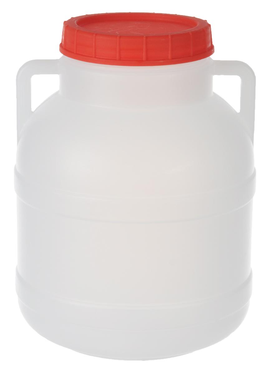 Канистра Альтернатива, 5 лM042Канистра Альтернатива на 5 литров, изготовленная из прочного пищевого пластика, предназначена для транспортировки и хранения пищевых жидкостей. Изделие безопасно для здоровья, герметично, устойчиво к растрескиванию, легко очищается и не сохраняет нежелательных запахов. Имеет широкое удобно отверстие, которое прочно закручивается крышкой, а для удобства переноски имеются небольшие ручки. Также можно использовать на дачных участках для хранения поливочной воды, компоста, в качестве емкости для сыпучих строительных материалов.