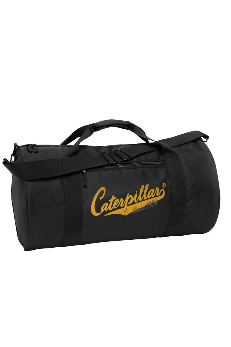 Сумка дорожная Caterpillar, цвет: черный, 40 л. 82600-0182600-01Дорожная сумка Caterpillar выполнена из полиэстера и оформлена названием бренда производителя. Изделие имеет одно вместительное отделение, которое закрывается на застежку-молнию. Внутри имеется прорезной карман на застежке-молнии. Снаружи, на передней стенке расположен прорезной карман на застежке-молнии. Изделие оснащено двумя удобными ручками. В комплект входит съемный регулируемый плечевой ремень.Стильная дорожная сумка Caterpillar станет заменимым спутником в вашем путешествии. Также подойдет для походов в спортивный зал, в нее можно положить все необходимое.