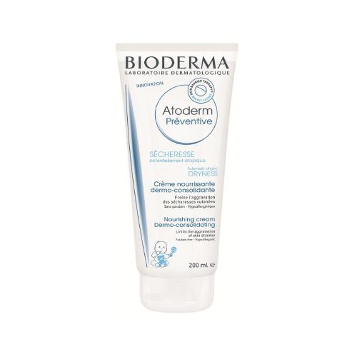 Bioderma Atoderm профилактический уход для тела младендев и детей, 200 мл28114Профилактический уход разработан для уменьшения сухости кожи, которая может возникнуть с рождения. Запатентованный комплекс биологически активных компонентов восстановливает барьер кожи. Мультиламеллярная формула.Уменьшает сухость кожи, восстанавливает кожный барьер.